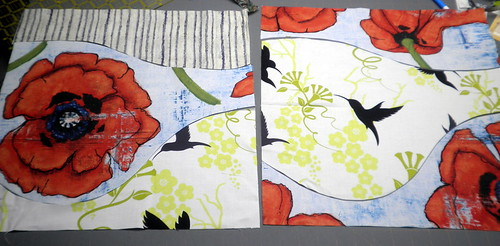 Project QUILTING - Large Scale Print Challenge:: Make the Cuts