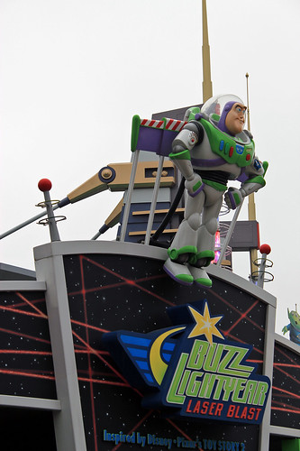 Buzz Lightyear Lazer Blast