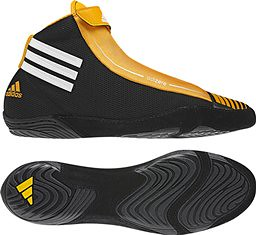 adidas Adizero Black Gold wrestling shoes