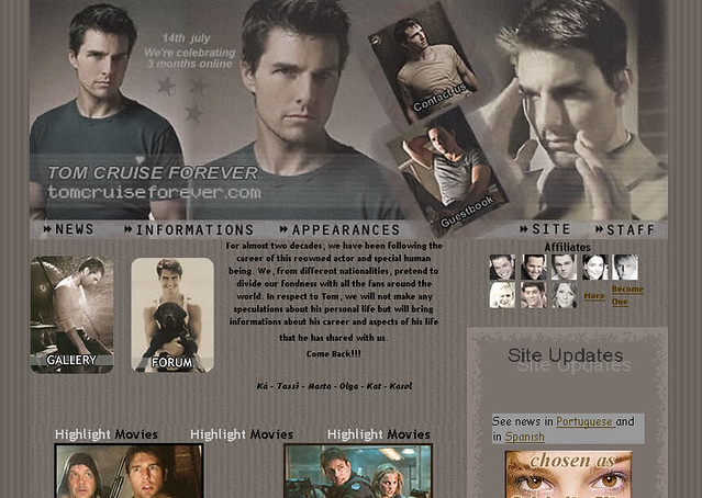 tom cruise forever - layout 3 by karinesm