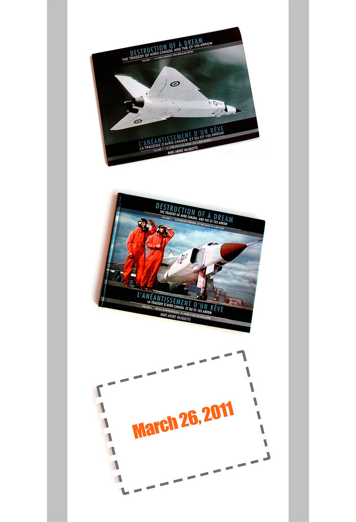 New AVRO ARROW book for 2011!