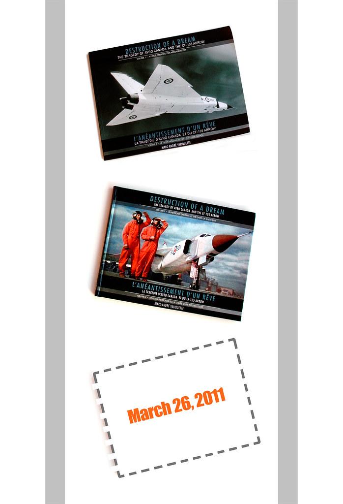 New AVRO ARROW book for 2011!