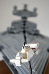 "Corellian Corvette ""Tantive IV"" (marvelousRoland) Tags: starwars lego stardestroyer ucs imperialstardestroyer rebelblockaderunner 10030 tantiveiv"