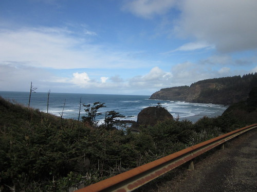 the Pacific from somewhere on Cape Meares