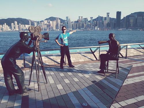 Kryspin directing Hong Kong