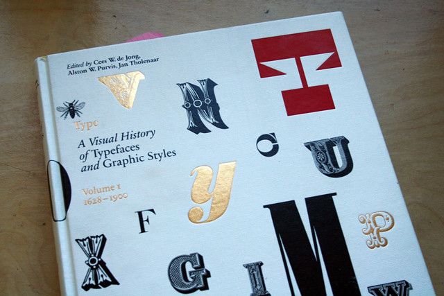 a visual history of typefaces