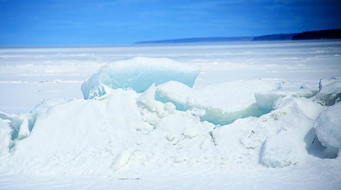Lake Ice at Breakup