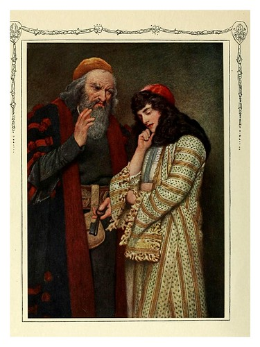001-Shylock y Jessica-Shakespeare's comedy of the Merchant of Venice 1914- James D. Linton