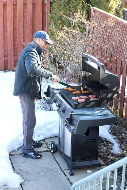 1st bbq of the Spring