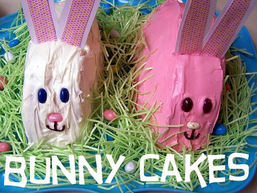 DIY: bunny cakes