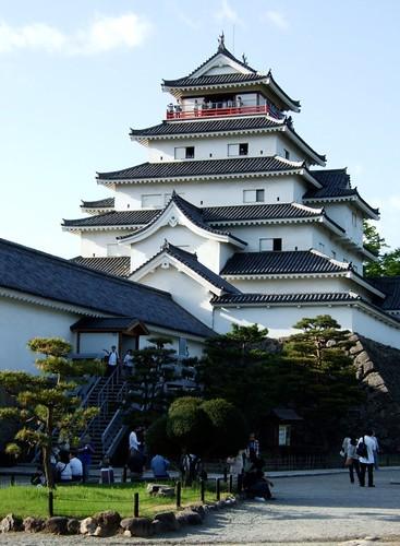 鶴之城正面