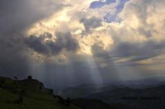 (Rawlways) Tags: light landscape asturias antelope rays chamois rebeco sueve gamuza piloña