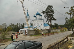 162. Church service in Svyatogorsk / Богослужение в храме г.Святогорска 09.10.2016
