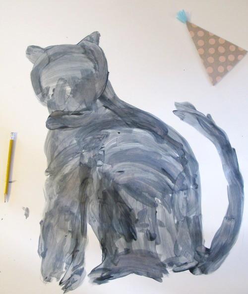 cat painting 2