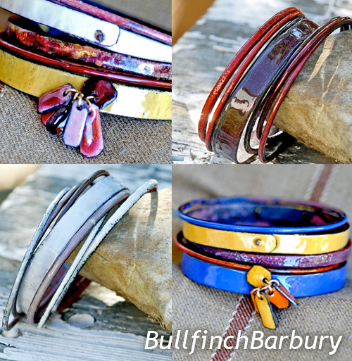 BullFinchBarbury_EnamelBracelets