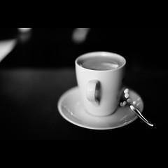 Want a coffee? (Fleischer Steve) Tags: world life city trip travel blackandwhite bw white black blancoynegro coffee monochrome canon germany walking deutschland photography eos 50mm blackwhite interesting streetphotography documentary streetscene 5d 2011 ef50mmf14usm fleischer stevefleischer canon5dmarkii stevefleischerde