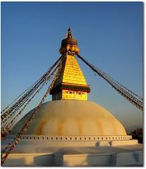 Nepal - Kathmandu - Boudhanath Stupa ( Jamie Mitchell) Tags: city nepal sunset mountains sunrise asian temple scotland asia view buddhist country religion buddhism unesco holy kathmandu nepalese himalaya hindu hinduism boudhanath nepali bouddhanath khasa caitya baudhanath sunsari earthasia