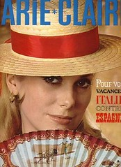 Marie Claire-April 1965 (Fashion Covers Magazines (Second)) Tags: 1965 marieclaire catherinedeneuve vintagefashion vintagemagazine 1960s marieclairemagazine 1960sfashion