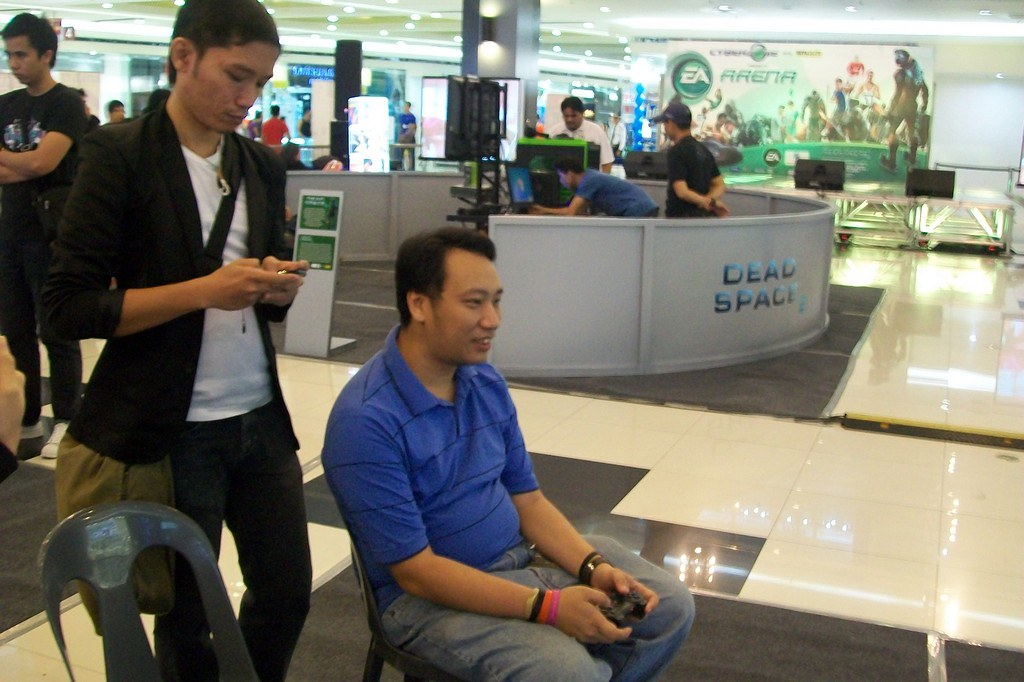 SM Cyberzone and Data Blitz EA Arena featuring Dead Space 2 Launch in SM Borth Edsa Event Coverage