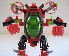 Torpedoes FIRE!!! (Built4Play) Tags: lego atlantis mecha mech moc