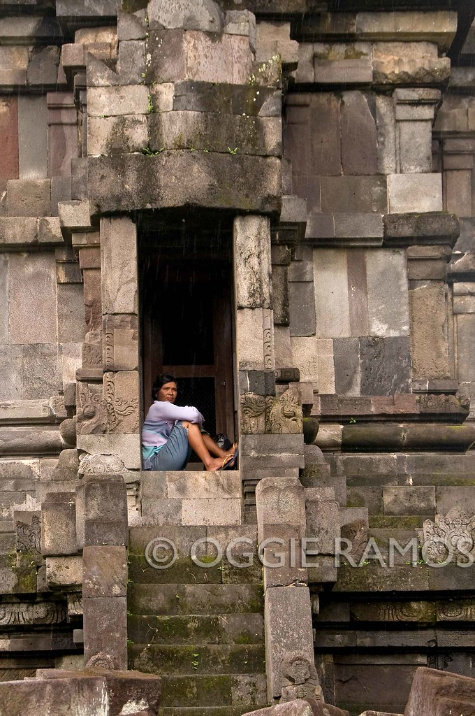 Indonesia - Prambanan Woman in the Wall