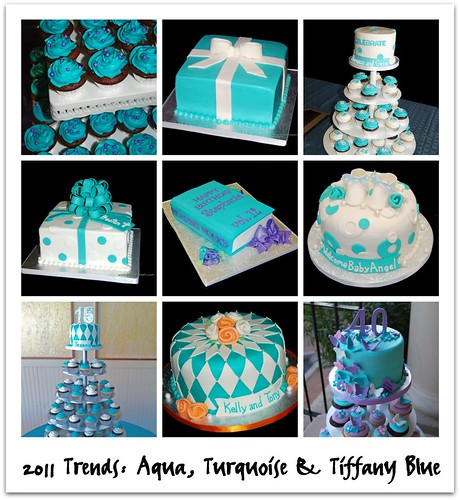 2011 Trends: Aqua, Turquoise and Tiffany Blue