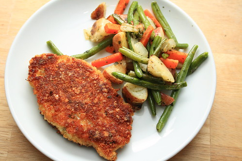 Parmesan-Crusted Baked Pork Chops