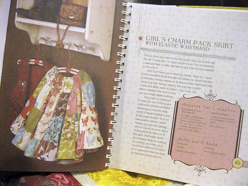 Charm Pack Skirt