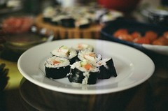 (sylvanwye) Tags: party sushi nora 2010