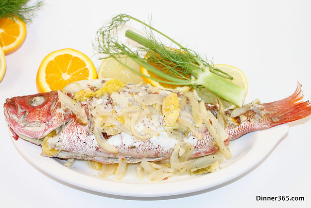 Day 36 - Baked Fennel Red Snapper