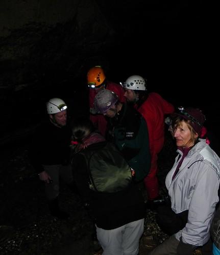 Examen Petit lac en étiage au fond de la grotte deBanges 020
