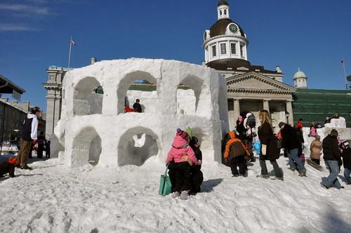 Snow coliseum