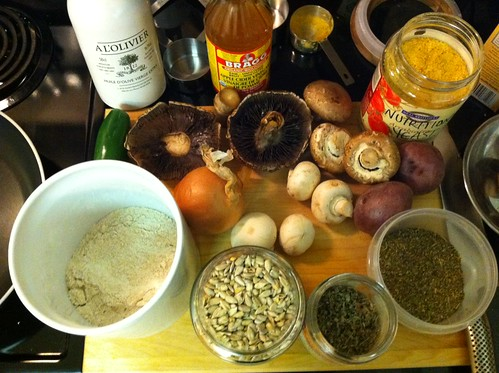 Mushroom Loaf Ingredients