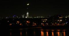 The Moon Over The Shard (IanVisits) Tags: moon london shard theshard