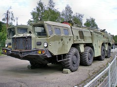 9K72 Elbrus operational-tactical missile system (SS-1c SCUD-B) (The Adventurous Eye) Tags: missile maz militaryvehicles scud missilesystem maz543 9k72 9p117 lešanymilitarymuseum