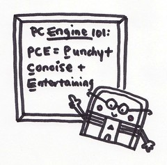 PC Engine 101 (bochalla) Tags: cute pc drawing engine games gaming doodle professor nerdy pcengine pce