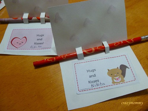 Homemade Valentine cards