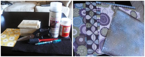 supplies for tile coasters