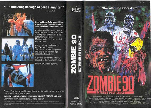 Zombie 90 (VHS Box Art)