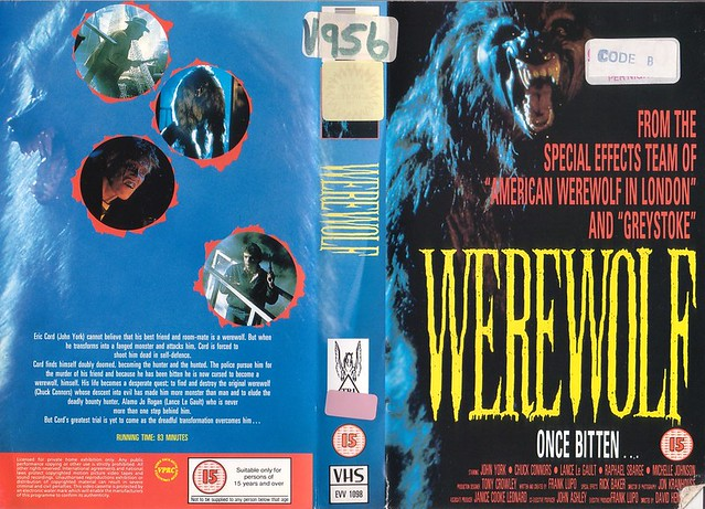 WEREWOLF (VHS Box Art)