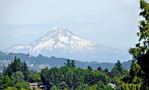 From Elk Rock Gardens - Mount Hood