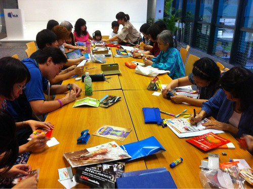 ATC at Bishan Library Feb 10