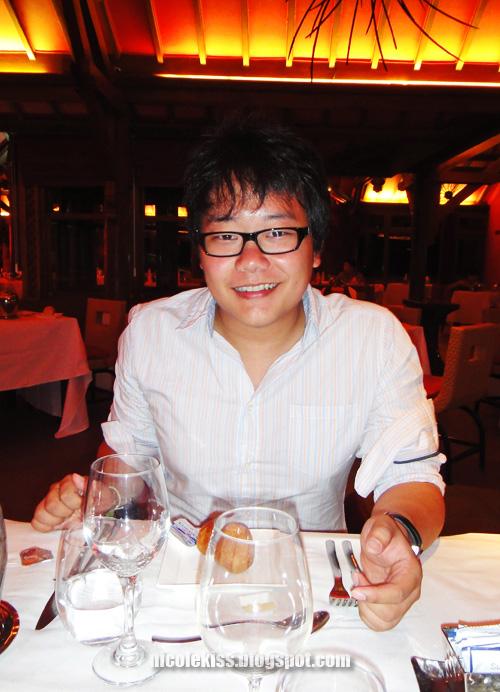 birthday boy dining