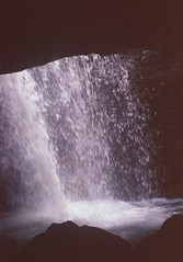 ******** (Keitha Haycock [cocteau.triplet]) Tags: film 35mm waterfall naturalbridge queensland magical telephotolens naturalarch springbrooknationalpark hiddenhole caveofbats