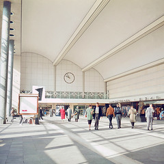 Centraal Station / Rotterdam / 1959 / vintage / eXplored (zzapback) Tags: old