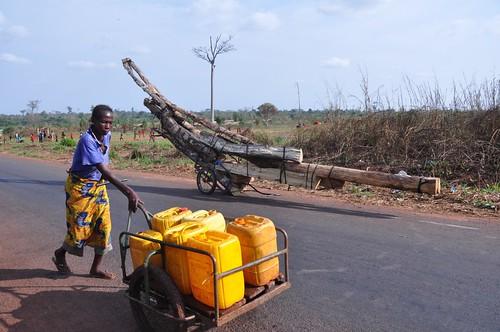Walking into Bangui