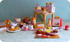 Rilakkuma Re-Ment {Explored #62} (Teka e Fabi) Tags: toys miniatures rement brinquedos rilakkuma miniaturas tekaefabi
