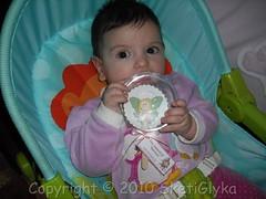 Little baby fairy cookie (Niki SG) Tags: birthday party cakes cookies cupcakes baptism sugarpaste γλυκα κεκακια τουρτεσ sketiglyka μπισκοτα ζαχαροπαστα ζαχαρωτα