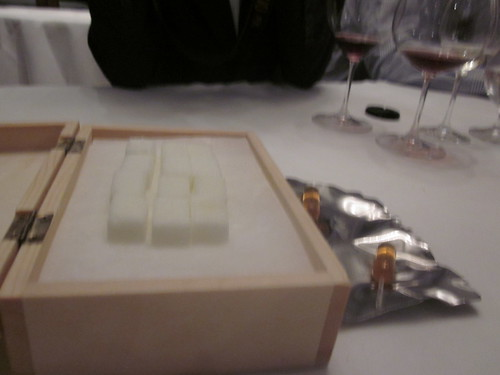 El Bulli - Roses - February 2011 - Sugar Cubes with Lime Whiskey Sour