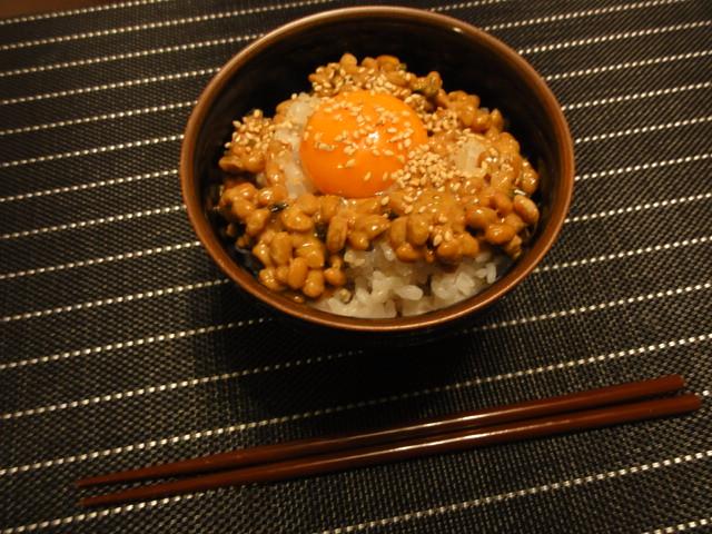 2011年2月9日 夕食(こってり納豆ごはん)
